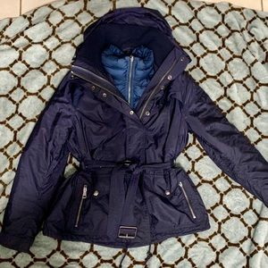 Burberry Brit 2 in 1 rain and down coat